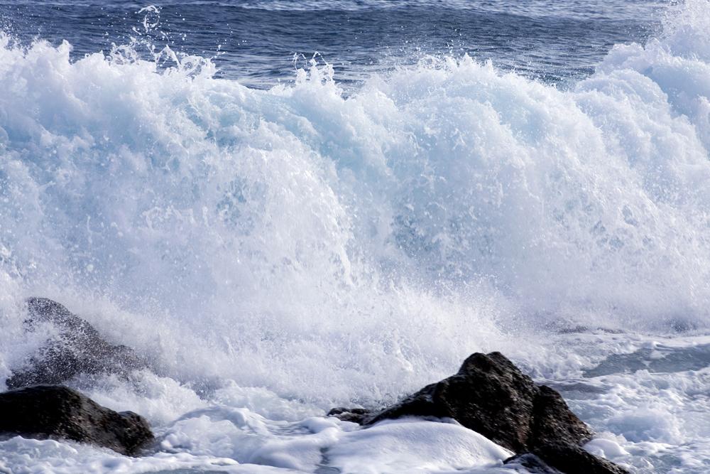 Insula Hvide Sande - havet